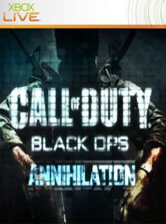 Jaquette de Call of Duty : Black Ops - Annihilation Xbox 360