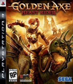 Jaquette de Golden Axe : Beast Rider PlayStation 3