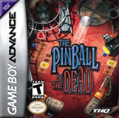 Jaquette de The Pinball of the Dead Game Boy Advance