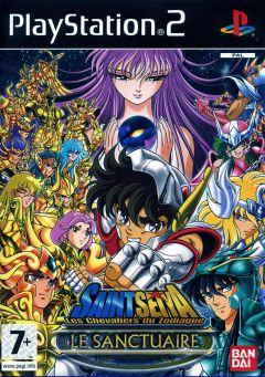 Jaquette de Saint Seiya : Les Chevaliers du Zodiaque : Le Sanctuaire PlayStation 2