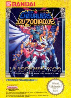 Jaquette de Les Chevaliers du Zodiaque : La Légende d'Or NES