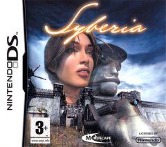 Jaquette de Syberia DS