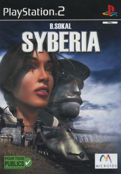 Jaquette de Syberia PlayStation 2
