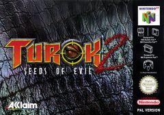 Jaquette de Turok 2 : Seeds of Evil (Original) Nintendo 64