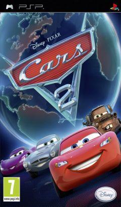 Jaquette de Cars 2 PSP