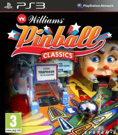 Jaquette de Williams Pinball Classics PlayStation 3