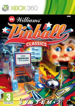 Jaquette de Williams Pinball Classics Xbox 360