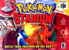 Jaquette de Pokémon Stadium Nintendo 64