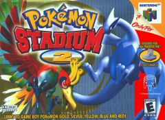 Jaquette de Pokémon Stadium 2 Nintendo 64