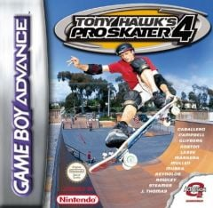 Jaquette de Tony Hawk's Pro Skater 4 Game Boy Advance