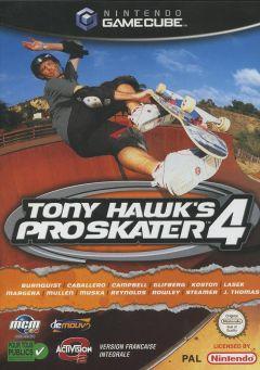 Jaquette de Tony Hawk's Pro Skater 4 GameCube