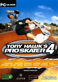 Jaquette de Tony Hawk's Pro Skater 4 PC