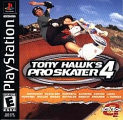 Jaquette de Tony Hawk's Pro Skater 4 PlayStation