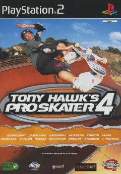 Jaquette de Tony Hawk's Pro Skater 4 PlayStation 2