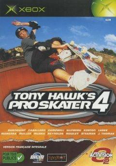 Jaquette de Tony Hawk's Pro Skater 4 Xbox