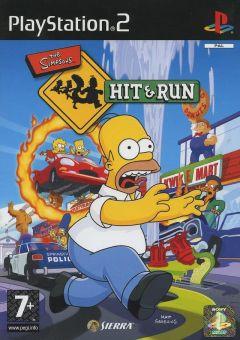 Jaquette de The Simpsons : Hit & Run PlayStation 2