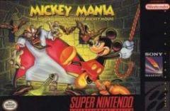 Jaquette de Mickey Mania Super NES
