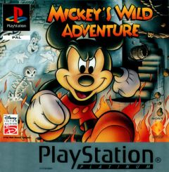 Jaquette de Mickey Mania PlayStation