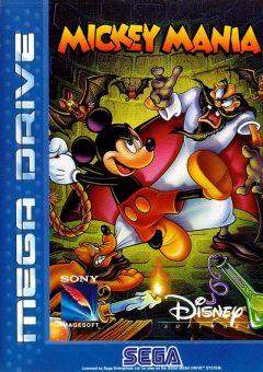 Jaquette de Mickey Mania Megadrive