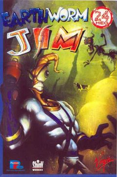Jaquette de Earthworm Jim PC
