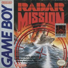 Jaquette de Radar Mission Game Boy