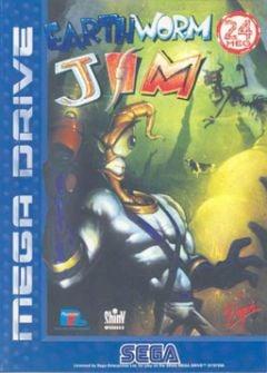 Jaquette de Earthworm Jim Megadrive