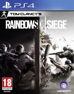 Jaquette de Tom Clancy's Rainbow Six Siege PS4