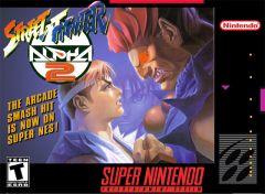 Jaquette de Street Fighter Alpha 2 Super NES
