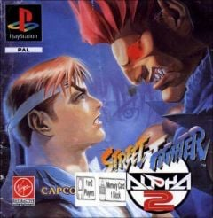 Jaquette de Street Fighter Alpha 2 PlayStation
