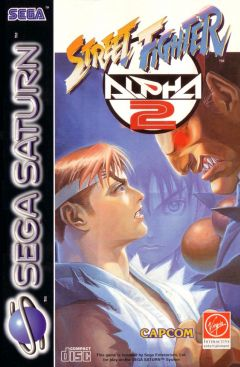 Jaquette de Street Fighter Alpha 2 Sega Saturn