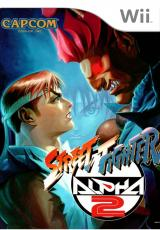 Jaquette de Street Fighter Alpha 2 Wii