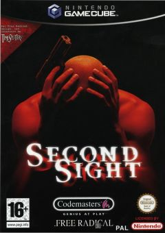 Jaquette de Second Sight GameCube