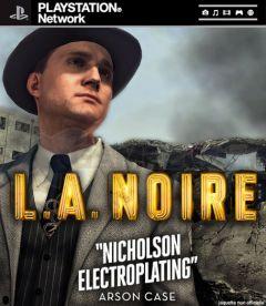 Jaquette de L.A. Noire Galvanoplastie Nicholson PlayStation 3