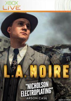 Jaquette de L.A. Noire Galvanoplastie Nicholson Xbox 360