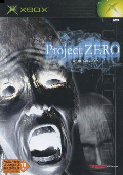 Jaquette de Project Zero Xbox