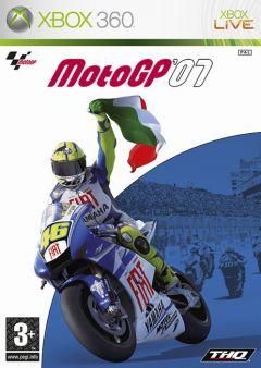 Jaquette de MotoGP '07 Xbox 360