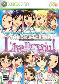 Jaquette de The Idolmaster Live For You Xbox 360