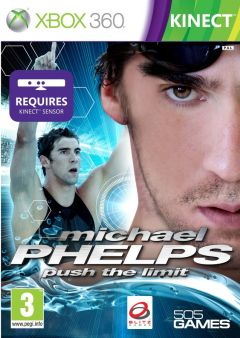 Jaquette de Michael Phelps : Push the Limit Xbox 360
