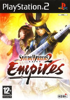 Jaquette de Samurai Warriors 2 Empires PlayStation 2
