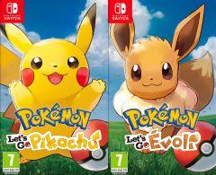Pokémon : Let's Go, Pikachu / Évoli