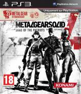 Metal Gear Solid 4 : Guns of the Patriots (25th Anniversary)