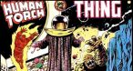 Image Questprobe featuring The Human Torch and The Thing