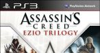 Jaquette américaine d'Assassin's Creed Ezio Trilogy, une exclu PS3 là-bas.