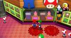 Image Mario & Luigi : Dream Team Bros. : Des magasins sont présents un peu partout sur l'île, décidément faite pour le tourisme.