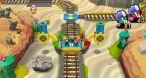 Image Mario & Luigi : Dream Team Bros. : L'exploration de chaque région va de pair avec l'introduction de mécanismes plus ou moins neufs.