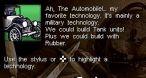 Voici une partie de l'arborescence de l'évolution technologique. (image DS)