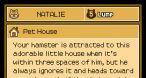 """Un hamster à faire """"dégrossir""""."""