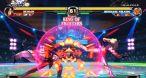 Deux coups de même puissance qui s'entrechoquent repoussent les deux combattants vers l'extérieur de l'écran.