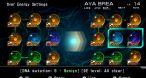Le système d'ADN pour booster les capacités d'Aya est un peu obscur au début.