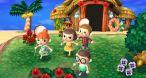 Image Animal Crossing New Leaf : L'île constitue un excellent lieu de rendez-vous pour les activités conviviales, comme la chasse aux insectes.